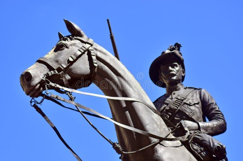 ANZAC Square Brisbane - Queensland Australien royaltyfri bild