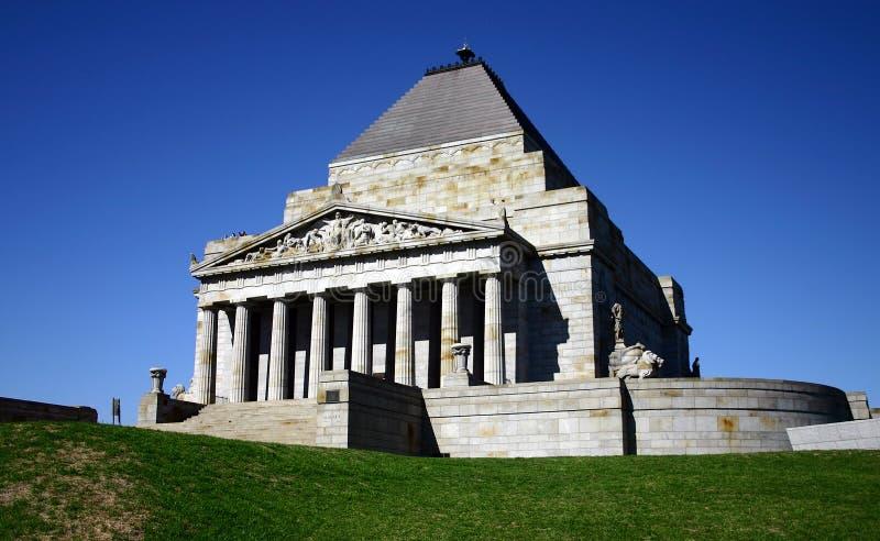 ANZAC - tombeau de souvenir photos stock