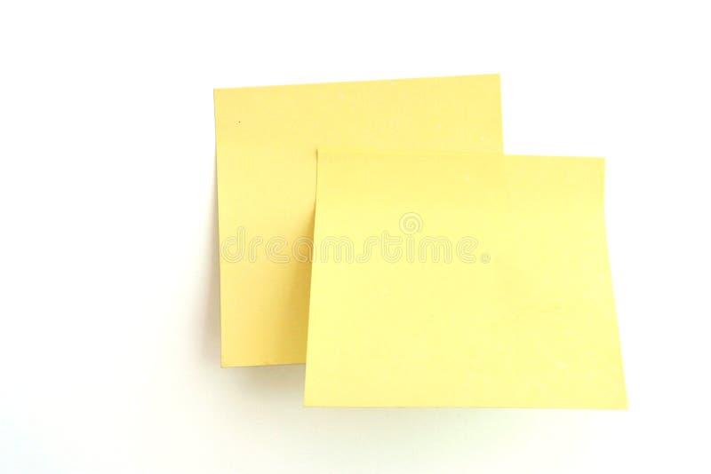 Anzeigenanmerkung, Post-It!! stockbilder