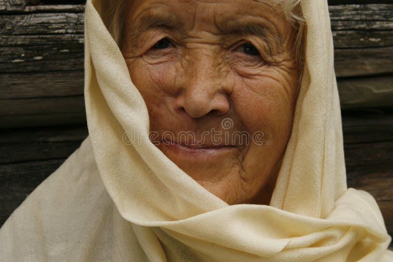 Anziana fotografie stock libere da diritti