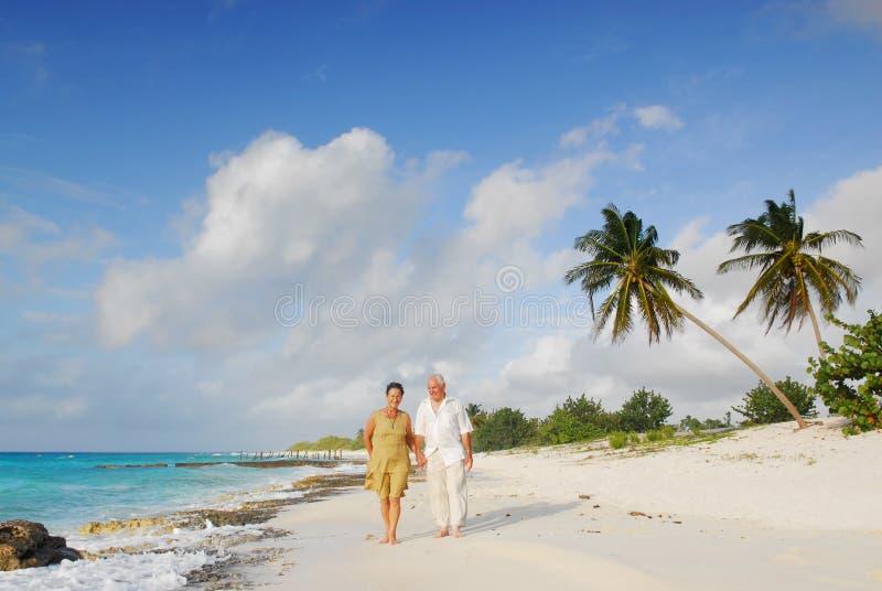 Anziani felici 1 fotografia stock libera da diritti