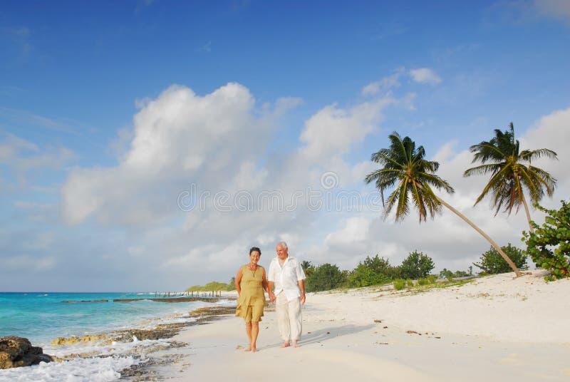 Anziani felici 1 fotografia stock