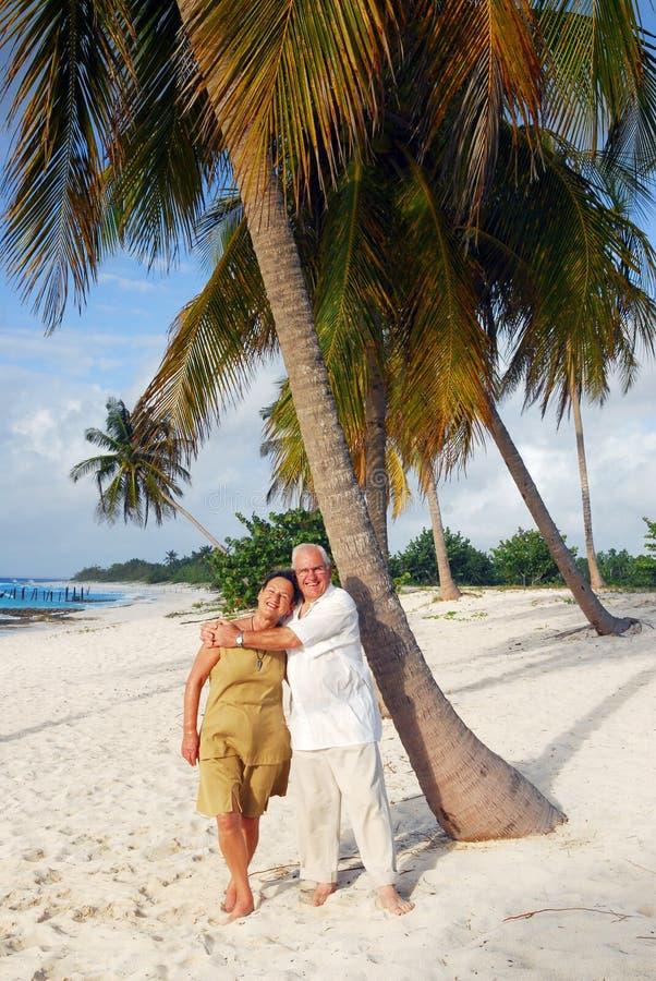 Anziani felici 10 fotografia stock