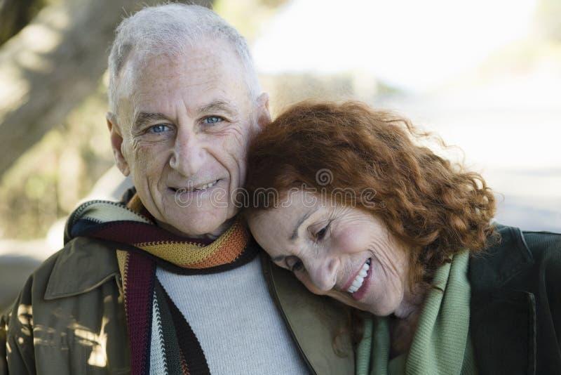 anziano delle coppie fotografie stock libere da diritti