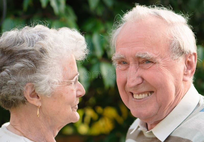 anziano delle coppie del cittadino fotografia stock libera da diritti