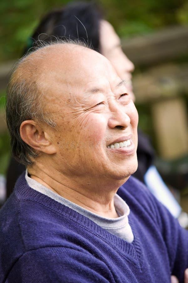 anziano felice delle coppie fotografia stock libera da diritti
