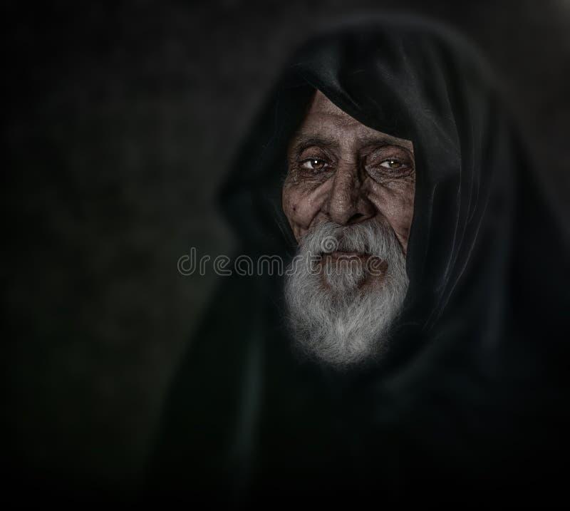 Anziano spirituale immagine stock