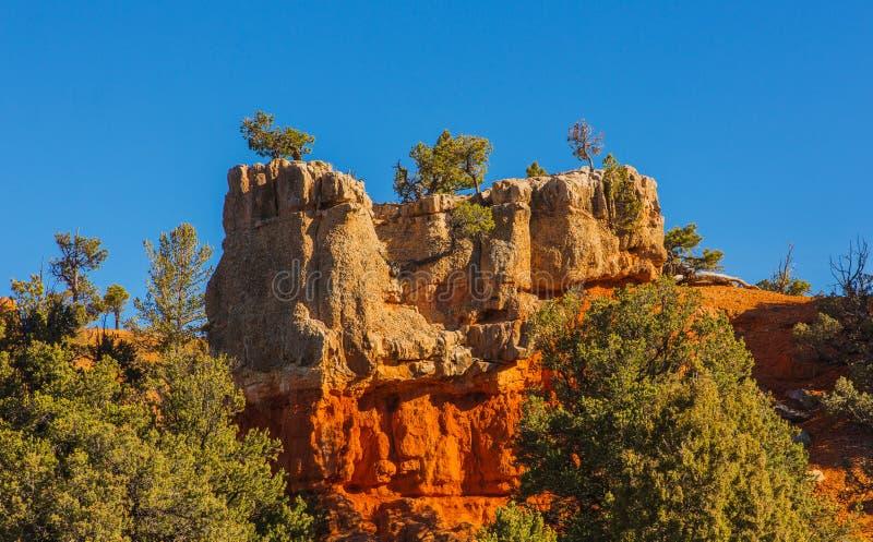 Anziehende Felsformation Hoodoos im Bryce Schlucht-Nationalpark stockfoto