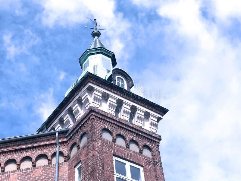 Anziehungskraft der Stadt Herning, Dänemark lizenzfreie stockfotos