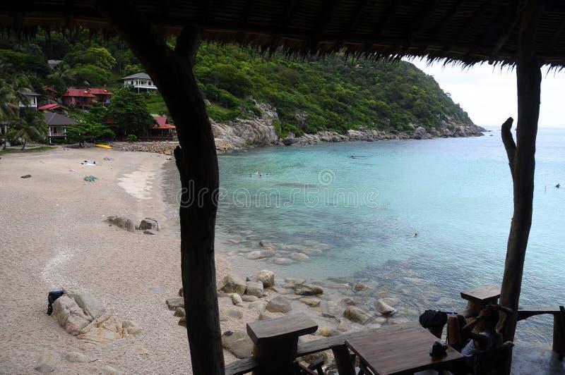 Ao Leuk plaża w Koh Tao wyspie, Tajlandia zdjęcia stock