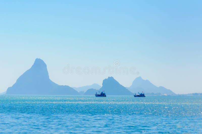 Ao Manao (Manao Bay) Prachuap Khiri Khan Thailand immagini stock