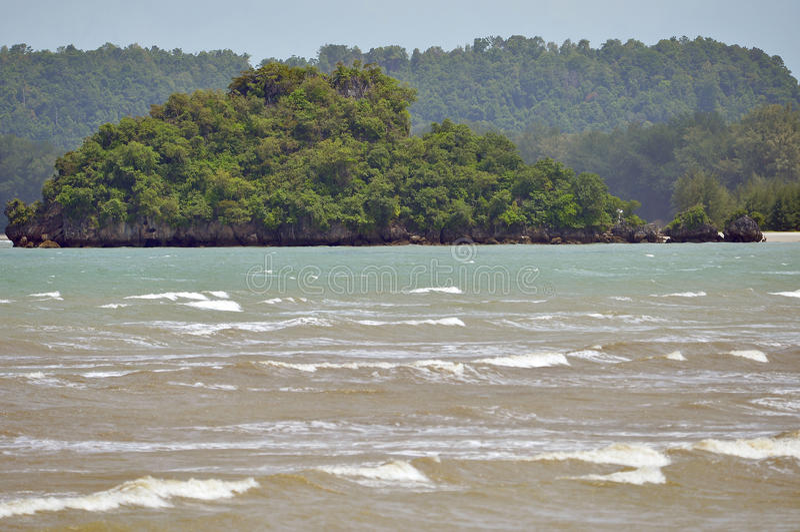 Ao nang plaża w Krabi Tajlandia obrazy stock