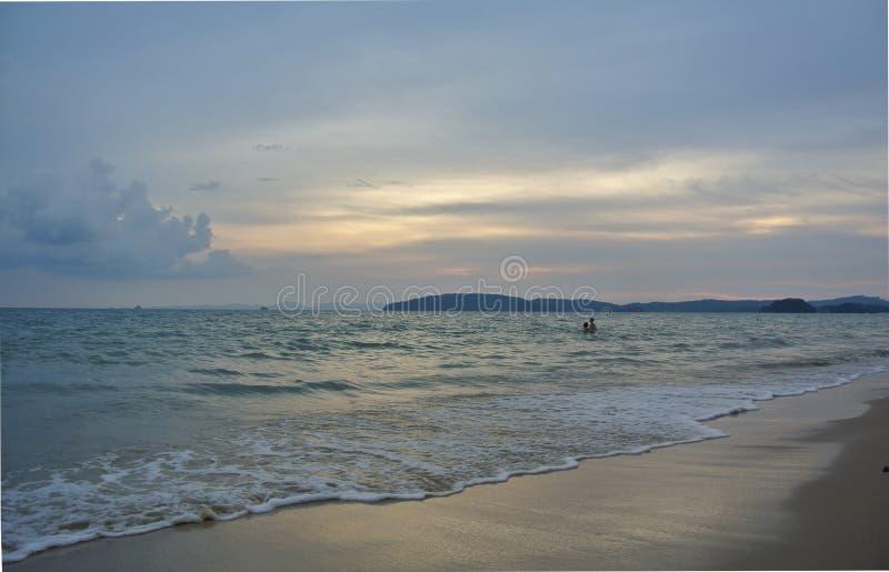 Ao Nang plaża w Tajlandia obrazy stock