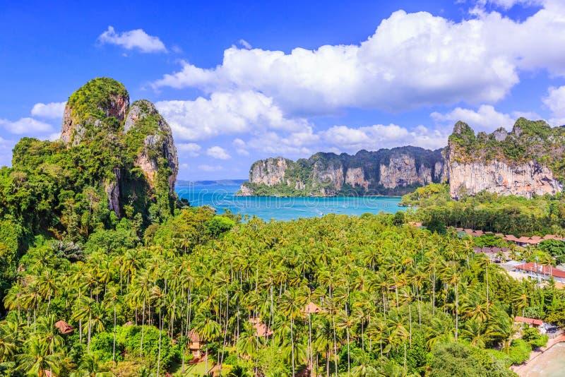 Ao Nang Província de Krabi, Tailândia fotos de stock royalty free