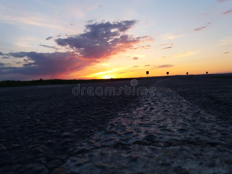 Ao por do sol foto de stock royalty free