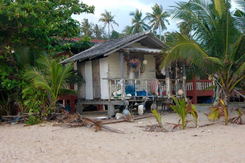 ao rybaka cyganów połowowego domu koh kpg panyee park phang muzułmańska wioska krajowej morza zdjęcia stock
