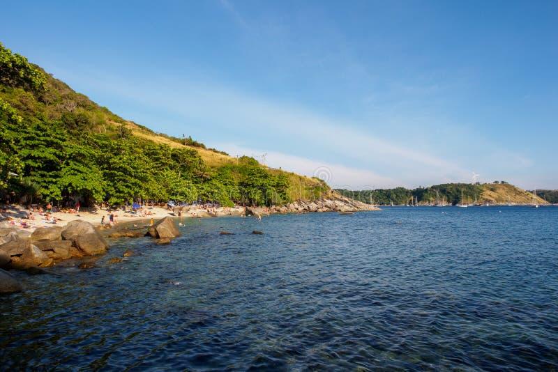 Ao Sane beach. Phuket, Thailand royalty free stock image