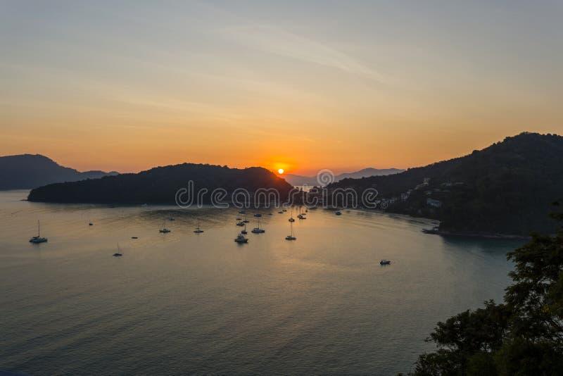 Ao Yon Beach Phuket Thailand fotografia stock libera da diritti