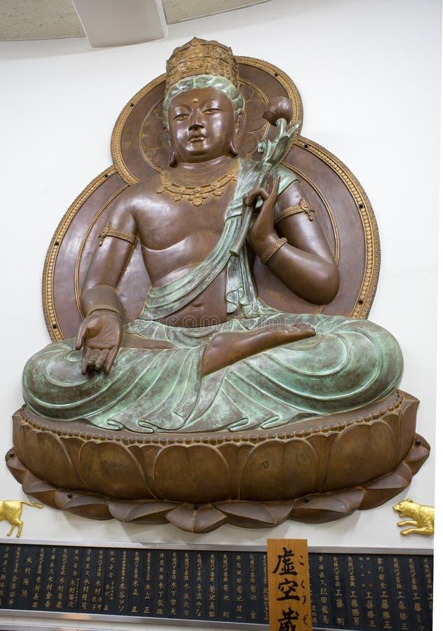 Aomori, Japón, templo de Seiryu Buda fotos de archivo libres de regalías