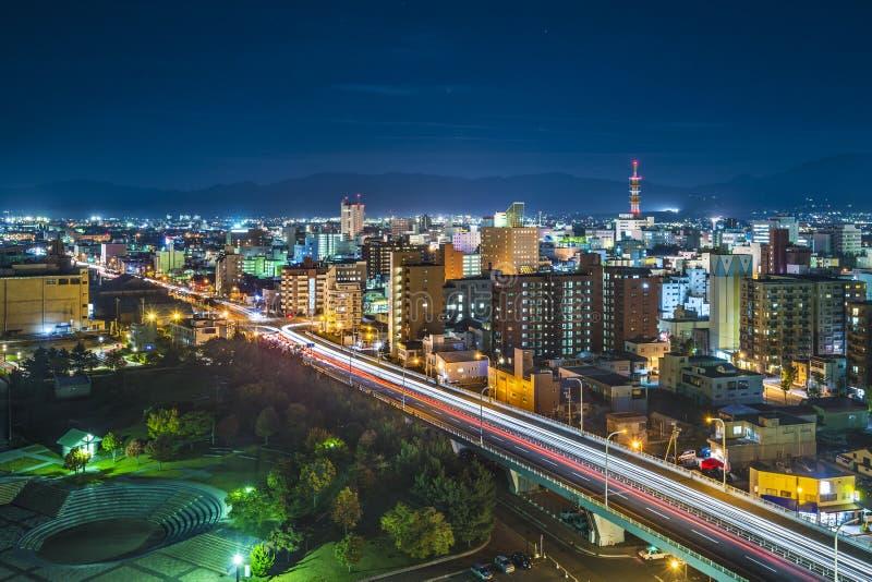 Aomori-Stadt, Japan stockfotografie