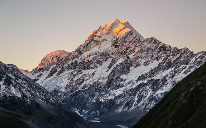 Aoraki/Mount Cook National Park, New Zealand royalty free stock photo