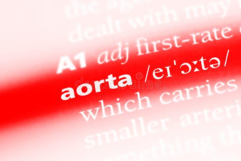 aorta foto de stock royalty free