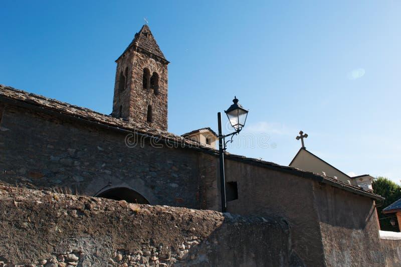 Aosta, de Aosta-Vallei, Italië, Europa stock foto