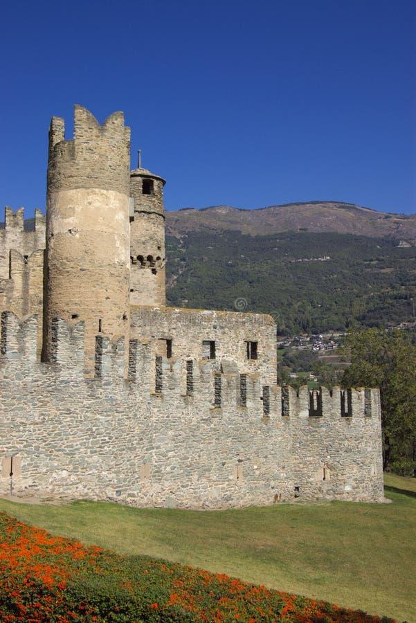 aosta grodowy Italy fotografia royalty free