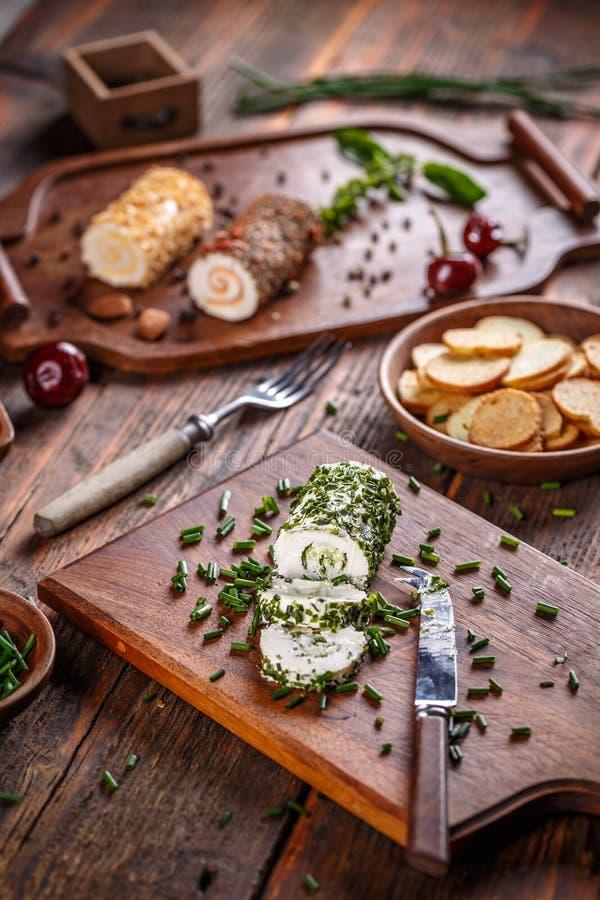 Apéritif de fromage images stock