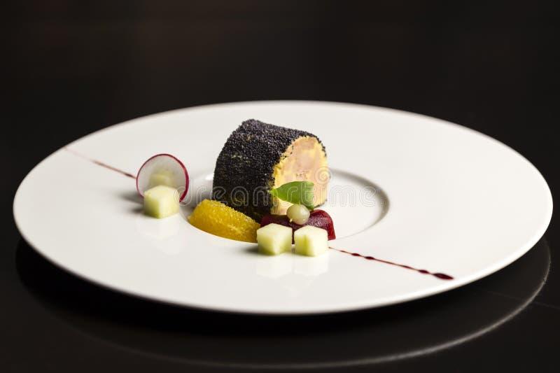 Apéritif de gras de Foie photos stock