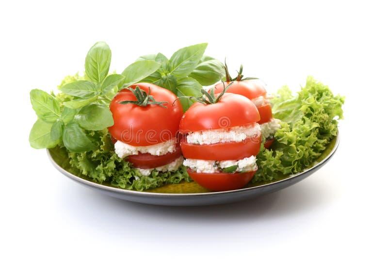 Apéritif de tomates images libres de droits