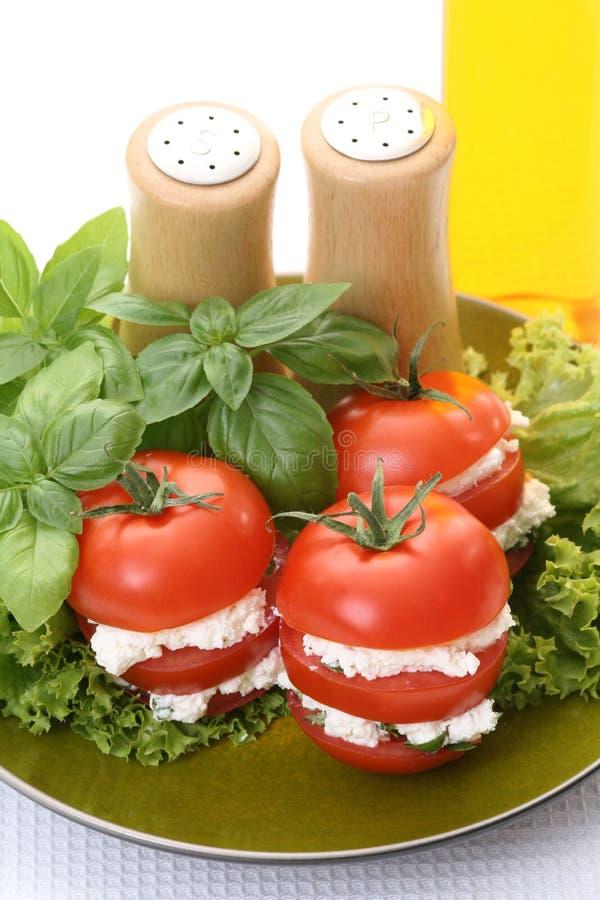 Apéritif de tomates photographie stock