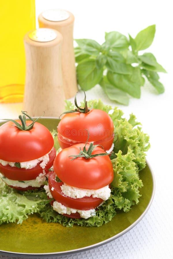 Apéritif de tomates image stock