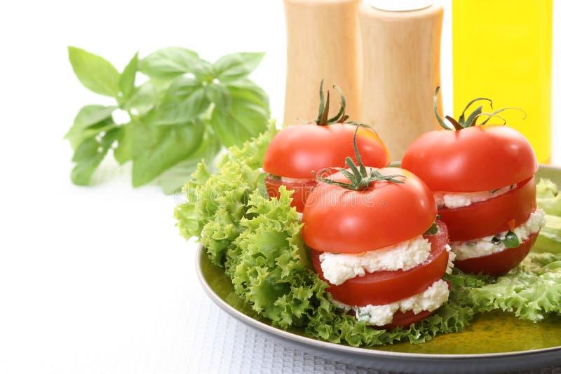 Apéritif de tomates image libre de droits