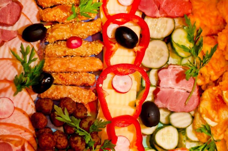 Apéritifs de nourriture photo libre de droits