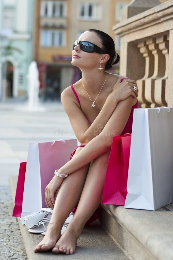 Após as lojas imagens de stock