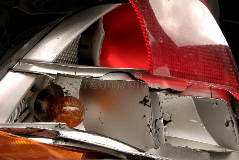 Após o acidente V foto de stock