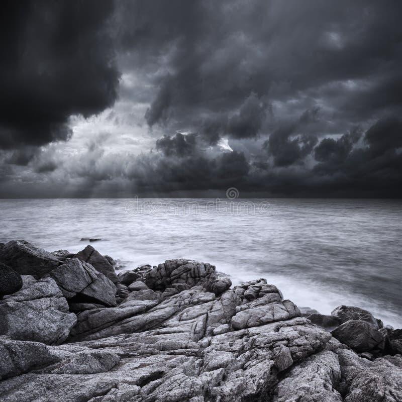 Após a tempestade foto de stock