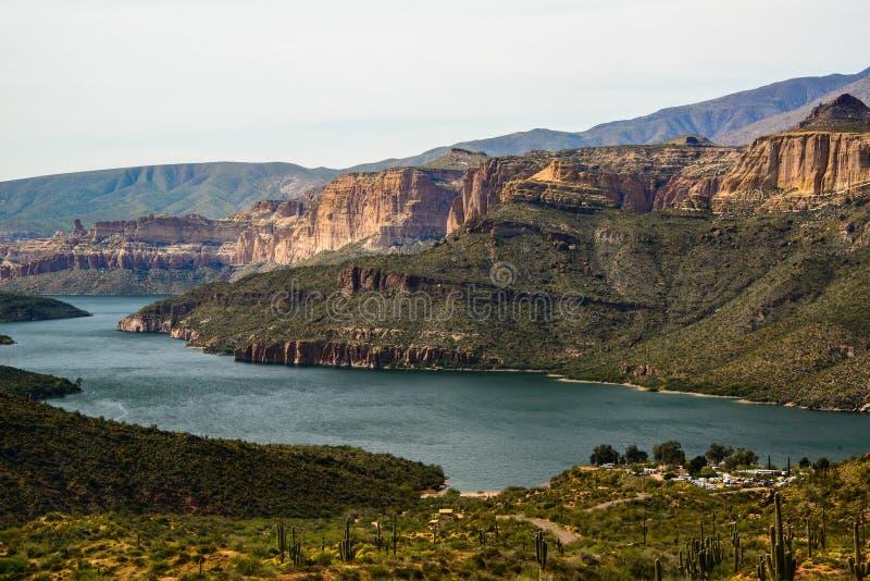 Apache湖 免版税库存照片