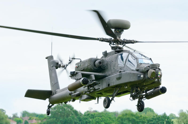 Apache Longbow Editorial Stock Image