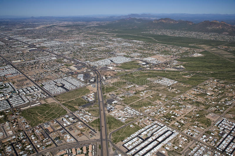Download Apache Trail stock photo. Image of aerial, valley, apache - 25473956