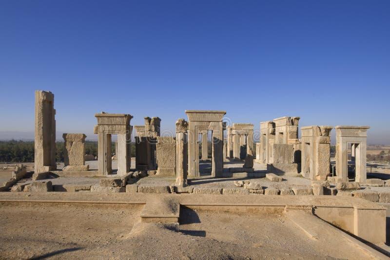 apadana pałac persepolis zdjęcia stock