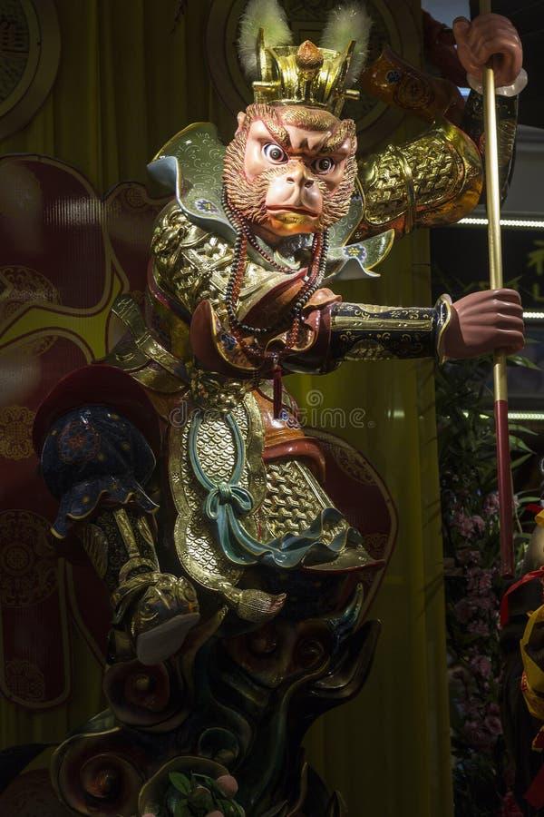 Apakonung - sol Wukong royaltyfria bilder
