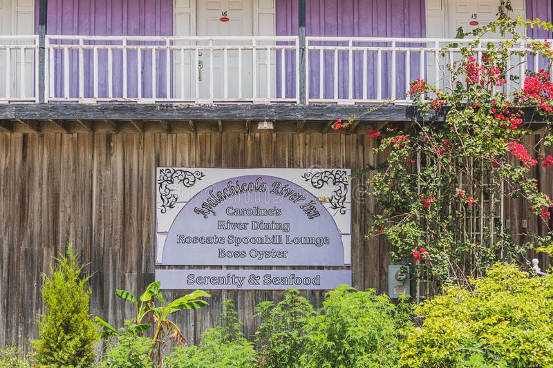 Apalachicola River Inn royalty free stock image