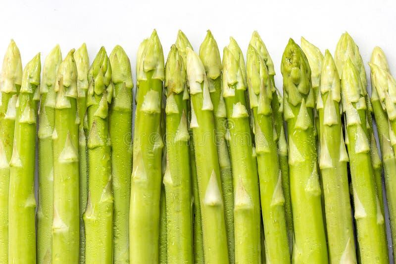 Aparagus. Green asparagus fresh from the farm stock images