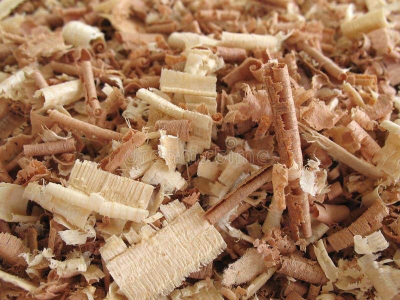 Aparas De Madeira 2 Fotos de Stock