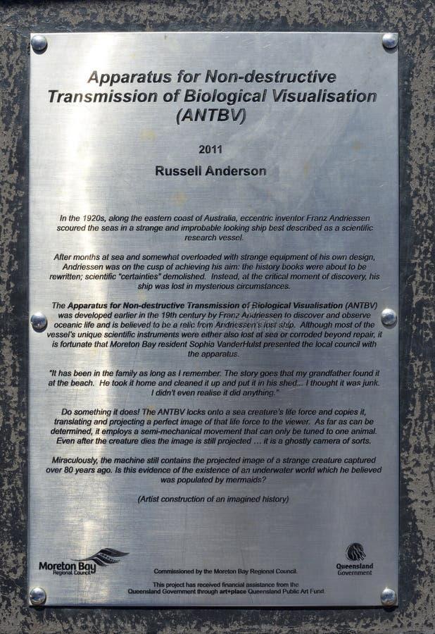 Aparato de la investigación de Redcliffe fotos de archivo