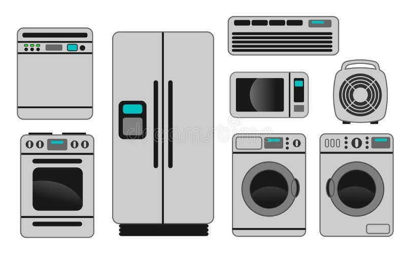 Aparatos electrodomésticos libre illustration
