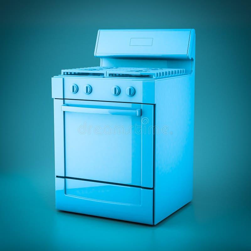 aparatos electrodomésticos de la representación 3D ilustración del vector