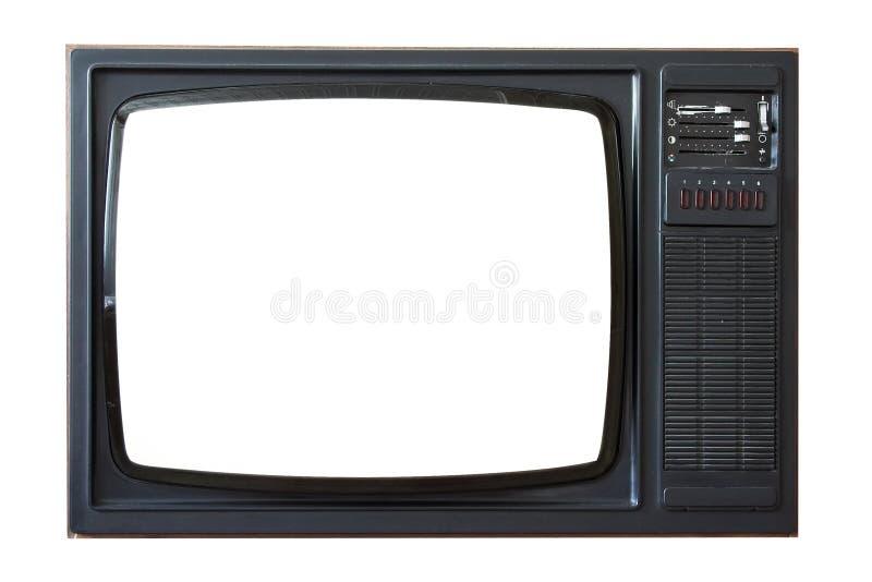 Aparelho de televisão velho
